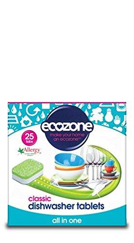 Ecozone | Pastillas para lavavajillas – Clásico | 4 x 25 pestañas