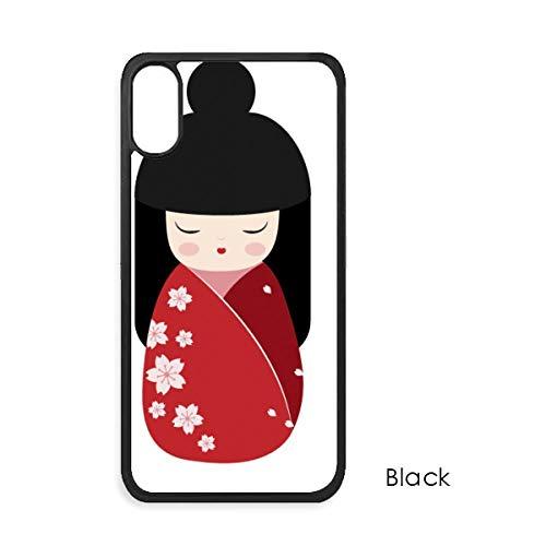 Rode Kimono Sakura Japan Voor iPhone X hoesjes Phonecase Apple Cover Case Gift