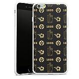 DeinDesign Coque en Silicone Compatible avec Apple iPhone 6 Plus Étui Silicone Coque Souple RBFA...