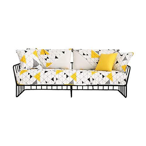 Sofa cushion Productos para el hogar Funda de sofá, funda gruesa para sofá de 1/2/3/4, almohadilla de protección de sofá de tela elástica, misma toalla trasera decoración (tamaño: 70 x 70)