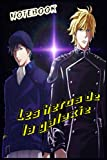 Les heros de la galaxie NOTEBOOK: Journal for Writing, College Ruled Size 6' x 9', 120 Pages, Anime...