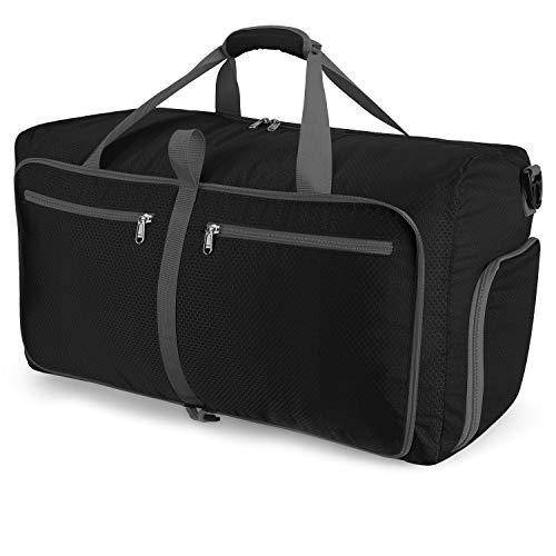 [Amazonブランド] Eono(イオーノ) - 折りたたみバッグ ボストンバッグ スポーツバッグ?折りたたみ 旅行バッグ トラベルバッグ 大容量 軽量 防水 コンパクト 旅行 出張 整理用 アウトドア 引っ越しバッグ 布団収納 - 60L