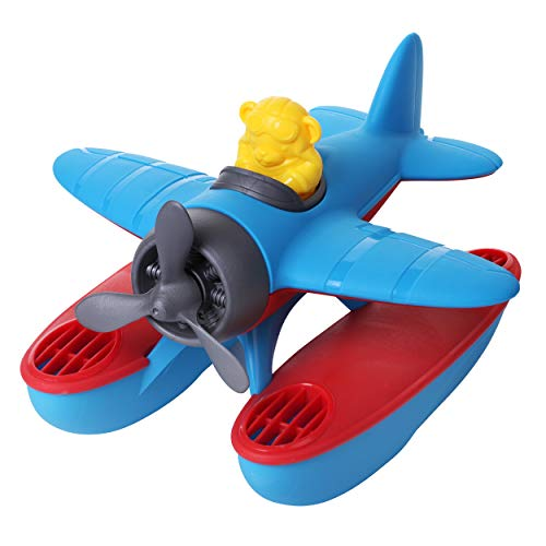 Dazmers Bath Floating Seaplane Imaginative Play Toy, Baby Bath Toy for Babies and...