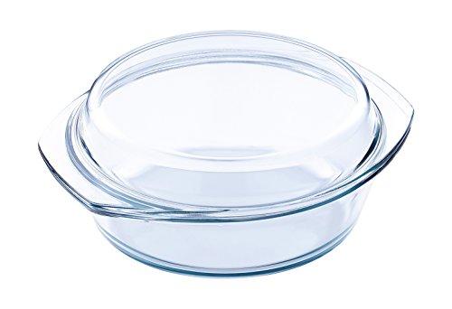 Glas Auflaufformen mit Deckel in versch. Größen zur Auswahl (1,0L)