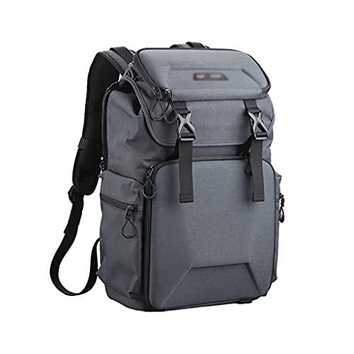 Bolso Ordenador La bolsa de la cámara de la fotografía de la mochila de la cámara encaja con hasta 15.6 pulgadas Cámara de cámara para laptop para cámara y accesorios de trípode de lentes Maletín para