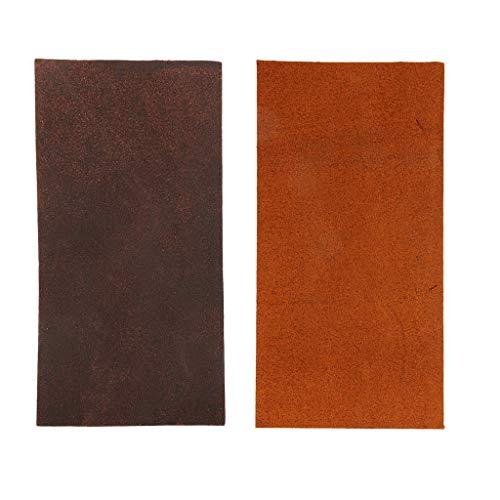 lahomia 2X Vinilo De Cuero Suave Material Resistente Al Fuego Patchwork Cortado...