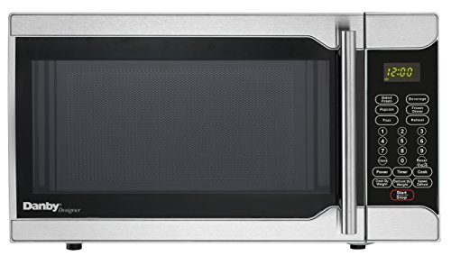 Danby DMW07A2SSDD 0.7 cu. ft. Microwave Oven, Stainless Steel.7 cu.ft