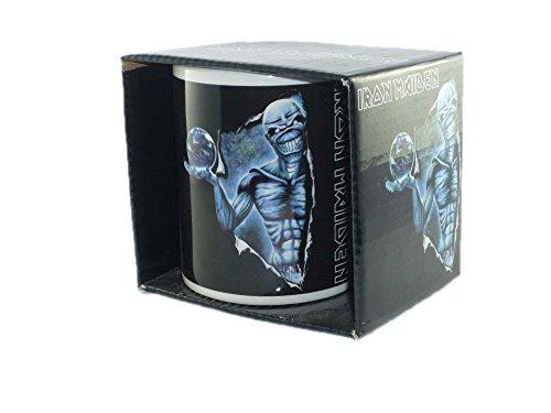 Iron Maiden - Rock Band Tasse Geschenktasse (Different World)...toll verpackt in einer Geschenkbox!