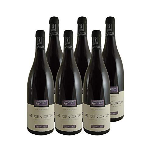 Aloxe-Corton Vieilles Vignes Rouge 2018 - Domaine Cauvard - Vin AOC Rouge de Bourgogne - Lot de 6x75cl - Cépage Pinot Noir