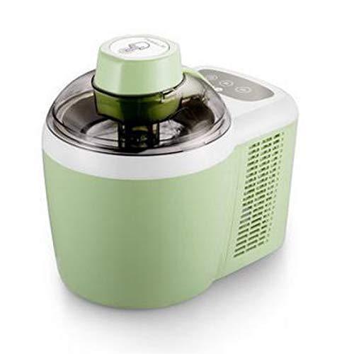 Maquina para Hacer Nieve y Helados en Casa Fabricante de helados para el hogar, sorbete inteligente de yogurt de yogurt que cuenta con la cuenta regresiva del temporizador de acero inoxidable para la