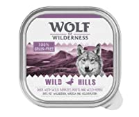 100 % grain-free recipe Mono protein High meat content, min. 66% Enriched with fruits of the forest (mixed berries), wild herbs and roots Suitable for dogs with grain allergies Made in Germany No artificial preservatives, colours or aromas