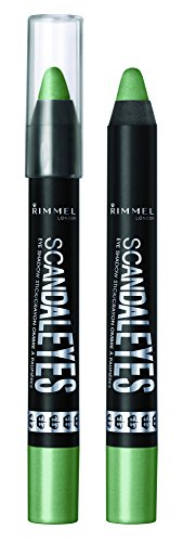 RIMMEL LONDON ScandalEyes Eye Shadow Stick - Gossip Green