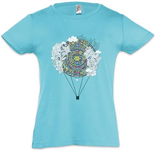 Urban Backwoods Mayan Calendar Balloon Kinderen Meisjes T-Shirt