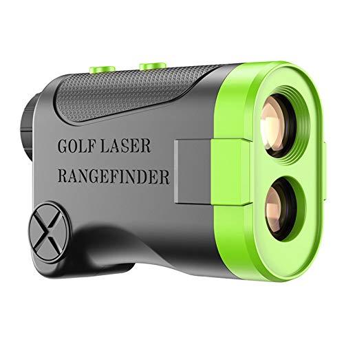 JFF Golf-Entfernungsmesser, Jagd-Entfernungsmesser 6X Laser-Entfernungsmesser 600 M Mit Slope ON/Off-Technologie, Schnelles Flag-Lock, Kontinuierliche Scan-Unterstützung
