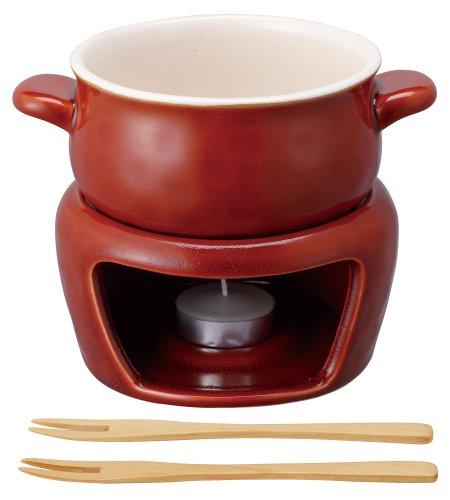 KINTO(キントー)ほっくりチーズフォンデュ赤16465