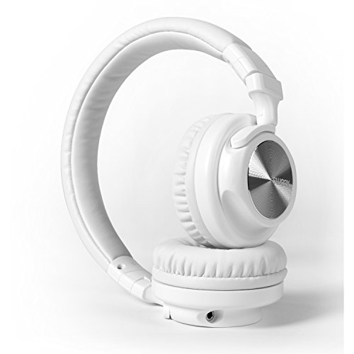 Eurosell Premium Kopfhörer 3,5mm Klinke verkabelt weiss für Smartphone/TV/DJ/Laptop/Studio