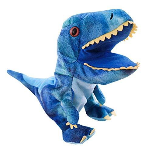 Woorea Dinosaurio marioneta de Mano Animal Cabeza Guantes niños Juguete Regalo marioneta de Mano para Historias Dinosaurio Modelo Figura Juguete mordaza