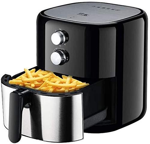 XYUN 1200W Luft Fryer, 3.5L Oil-Free Antihaft-Pfanne mit Ofen, Fast Luftzirkulationssystem, leicht zu reinigen und Einstellbarer Temperaturregelung