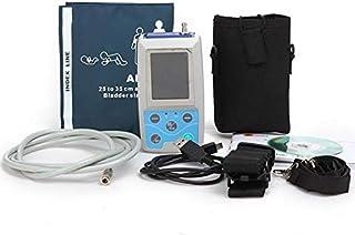 SISHUINIANHUA 24 Horas ambulatorio de presión sanguínea Monitor de Sistema Mapa 6 Cuffs