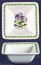 وعاء صغير مربع من بورتميرايون، وعاء طعام بوتانيك جاردن 10.16 سم، أواني طعام من الصين الجميلة
