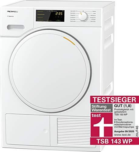 Miele TSB 143 WP Wärmepumpentrockner mit 7kg Schontrommel, 24h Startvorwahl, Trommelbeleuchtung, 11 Programmen und Perfectdry