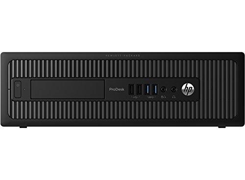 HP ProDesk 600 G1 SFF Slim Business Desktop Computer, Intel i5-4570 up to 3.60 GHz, 8GB RAM, 256GB SSD, DVD, USB 3.0, Windows 10 Pro 64 Bit (Renewed)