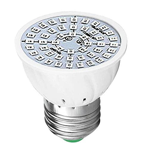 Yililay Luz Planta Espectro, la lámpara del Crecimiento de la Planta, 80-Bombilla LED Crecimiento de Las Plantas de luz LED Full Spectrum E27