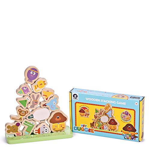 Hey Duggee 9089 Stacking Game, Multi Wooden