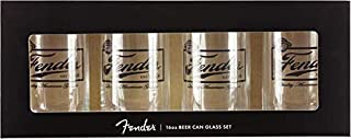 Fender 16oz Beer Can Glasses
