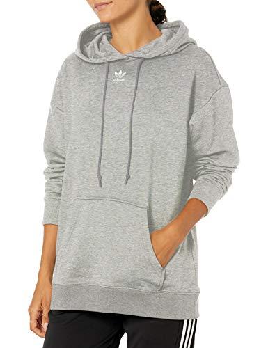 adidas Originals Sudadera con capucha para mujer - gris - XS