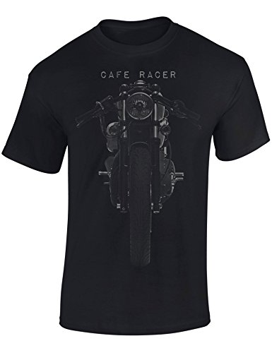 Petrolhead: Motocicleta Cafe Racer - Camiseta Moto - Regalo Hombre - T-Shirt Racing - Camisetas Coches - Tuning - Motero - Biker - Chopper - Unisex (M)