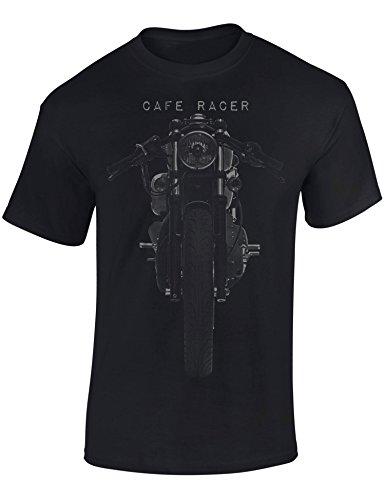 Petrolhead: Motocicleta Cafe Racer - Camiseta Moto - Regalo Hombre - T-Shirt Racing - Camisetas Coches - Tuning - Motero - Biker - Chopper - Unisex