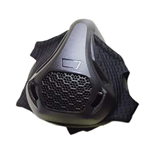 Olddreaming-Máscara deportiva de barrera de oxígeno, máscara de entrenamiento de fitness, máscara de altitud, máscara de resistencia de altitud, máscara de alta altitud para correr aeróbico
