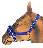Knight Rider Hochwertiger Nylon-Kappzaum, Flauschiges Kunstfell, stufenlos verstellbar