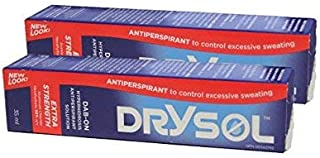 Drysol Dab On - Extra Strength 20% 35mlx2boxes Drysol Dab On - Extra Strength 20% 35mlx2boxes