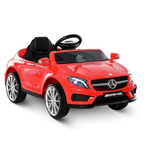 HOMCOM Voiture véhicule électrique Enfant 6 V 3 Km/h Max. télécommande Effets sonores + Lumineux...