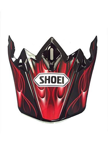 Shoei Rot Vfx-W Grant Tc1 Mx Helm-Visier (One Size, Rot)