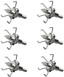 misaya 100 Grain Archery Broadhead Field Tips Point for Small Game