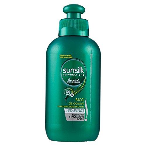 Sunsilk - Crema Disciplinante, Per Capelli Ricci e Mossi, Senza Risciacquo - 200 ml