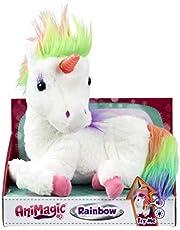 Goliath 256301 Animagic Unicorn Rainbow Knuffeldier
