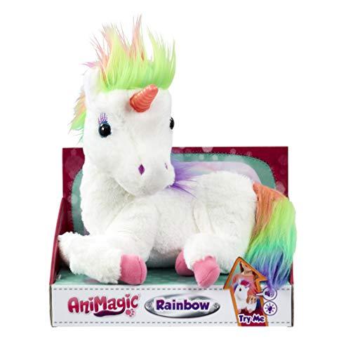 Animagic 31224.43 - Rainbow, mein Einhorn mit Lichteffekten, Elektronisches Haustier