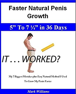 To make my penis grow faster