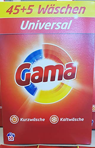 Waschmittel Vizir Gama pulver Universal 50 WL, 3,25 kg