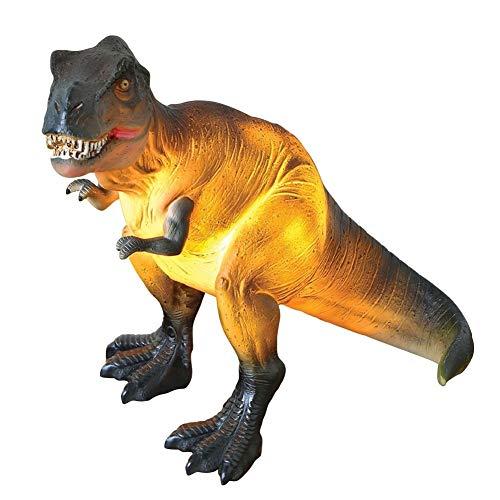 "What On Earth T-Rex Dinosaur Lamp - Tyrannosaurus Rex Accent Table Light - 10.5"" x 9"""