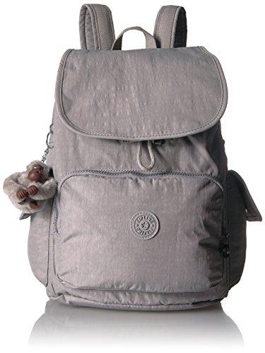 Kipling Women's City Pack Backpack, Slate Grey , One Size