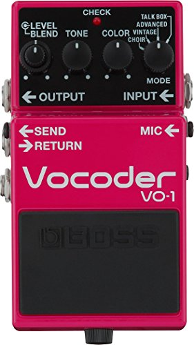 BOSS VO-1 Vocoder Effects Pedal