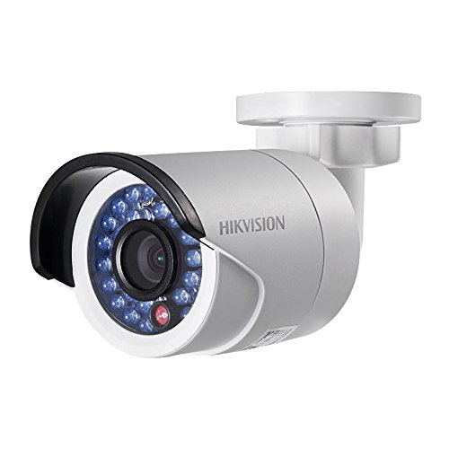 Hikvision DS-2CD2010-I Mini IP Network Bullet Color Camera, HD 1.3MP 1280X960, 4mm Lens, PoE, IP66 Weatherproof, IR up to 30M, True Day & Night, Digital Wide Dynamic Range, H.264 / M-JPEG, 3D DNR