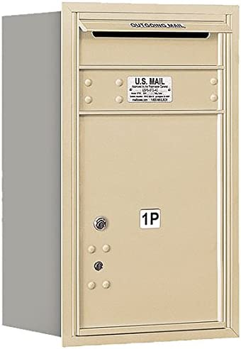Salsbury Industries 3707S-1PSRP Recessed Year-end annual account 4C Locke Las Vegas Mall Mounted Parcel