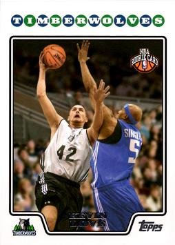 2008-09 Topps Basketball #200 Kevin Love Rookie Card