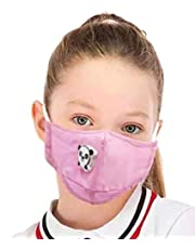kids mask with filter 2.5 and valve (pink)